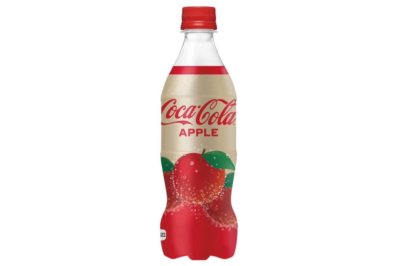 コカ・コーラアップル味が新発売